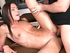 Skinny Ass Fucking Paramour Nataly Gold  Gets Plowed