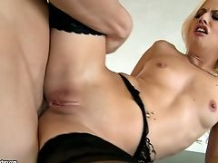Blonde Jessie Volt  Gets Slammed In The Arse