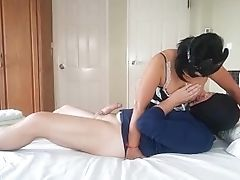 Asian Maid Could Not Fight Back Beef Whistle Part 1