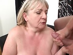 Blonde Does Lewd Things And Then Gets Painted With Gooey Nectar