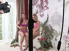 Blonde Silvia Saint With Big Tits And Stacy Silver Cry And Shout In Girl-on-girl Rapture