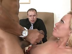 Blonde Justin Lengthy Can't Live A Day Sans Getting Fucked By Stud's Erect Fuck Stick In Interracial Pornography Act