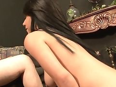 Dark Haired Tessa Taylor Gets Painted With Man Fluid After Hook-up With Hot Man