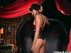 Incredible Sex Industry Star Ariana Marie In Exotic Black-haired, Gothic Porno Clip