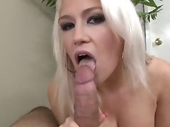 Blonde With Edible Tits Is In Fever In Money-shot Fucky-fucky Act