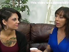 Amazing Sex Industry Stars Bonnie Rotten And Alia Janine In Fabulous Threesome, Fellatio Adult Movie