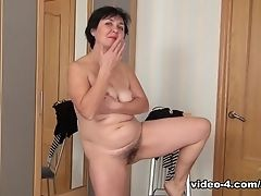 Horny Superstar In Crazy Hairy, Dark-haired Porno Scene