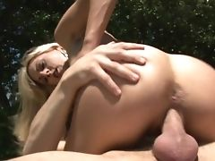 Blonde Sindy Lange With Massive Hooters Is Good On Her Way To Make Horny Fuck Pal Explode In Xxx Activity