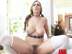Ass Fucking Visions, Student Lena Paul Gets Atm