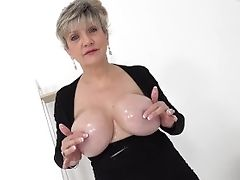 Big-boobed Matures Lady Sonia Wants You To Wank To Her Tits