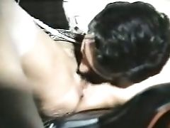Subordinated And Beautiful Brown-haired Honey Gets On Her Knees To Feed On A Dick