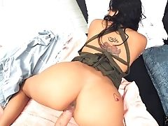 Tempting Latina Serena Santos Is Fucked Hard By Hot Blooded Stranger