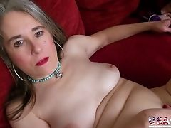 Matures Lady Marie Has A Fuck Stick Which She Uses For Petting Her Humid Coochie