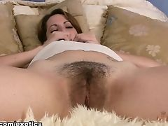 Incredible Pornographic Star In Amazing Hairy, Onanism Adult Vid
