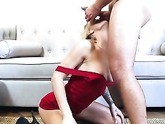 Blonde Synthia Fixx Is One Hot Pecker Rider That Loves Anal Intercourse With Keiran Lee Before She Gets Her Mouth Fucked