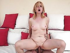 Blonde Is In Fever In Cum Shot Bang-out Activity