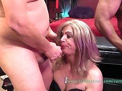 Claire's Trans Drool Roast Orgy Pt4 - Curvyclaire