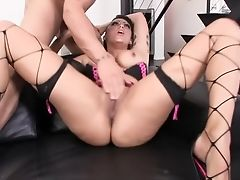 Amazing Pornographic Star Krissy Lynn In Crazy Pussy Eating, Big Backside Fuck-fest Vid
