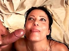 Old Rich Fart Loves Watching How Two Dudes Fuck His Nasty Youthfull Wifey Zoey Holloway