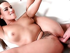 Dark Haired Mea Melone Bj's Like A Pro In Oral Act