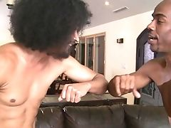 Teenager African And Hard Dicked Dude Are Horny For Each Other