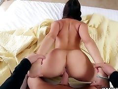 Astonishing Beautiful Fucked Bad In A Rear End Position