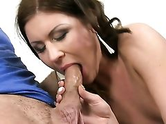 Brown-haired Renato Gets Her Many Times Used Mouth Fucked Again By Horny Man
