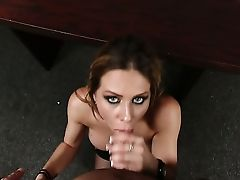 Brown-haired With Giant Knockers Having Sensuous Orgy With Hot Dude