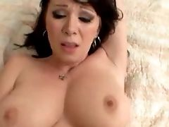 Hot Busty Brunette Cougar Pov