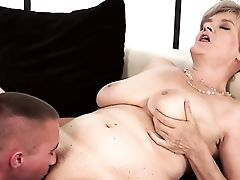 Matures With Massive Melons Is Horny As Hell And Fucks With Wild Passion